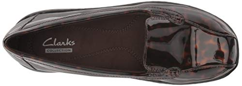 Brown US Women's Loafer 95 Synthetic Bayou Q CLARKS M w4z8qAIdx