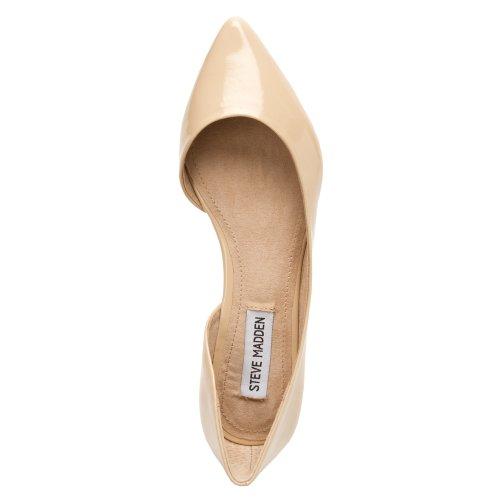 3fb5a13e72f Steve Madden Women's Elusion Ballet Flat,Blush Patent,6.5 M US - Buy ...