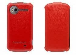 Quaroth Katinkas USA 6006427 Leather Holster for HTC Sensation Twin Flip - 1 Pack - Retail Packaging - Red