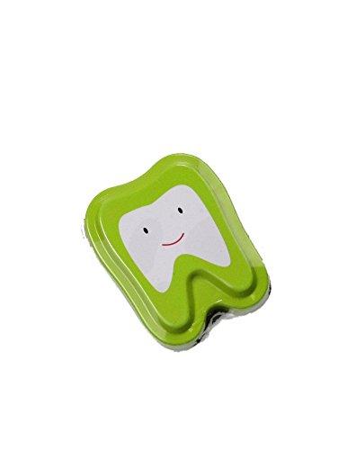 Bo/îte pour dents de lait vert Cadeaux bariol/és