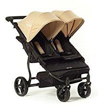 Baby Monsters Silla Gemelar Easy Twin Color Arena + Textil Adicionalde Regalo en Otro Color: Amazon.es: Bebé