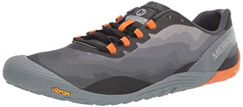Merrell Men's Vapor Glove 4 Sneaker, Granite/Exuberance, 10.5 M US ()