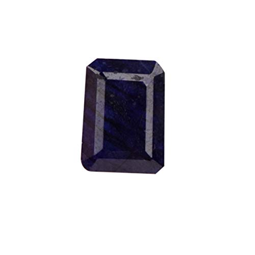 AAA++ Emerald Cut Blue Sapphire 13.45 Ct Natural Blue Sapphire, Blue Sapphire Gemstone for Home Decorations