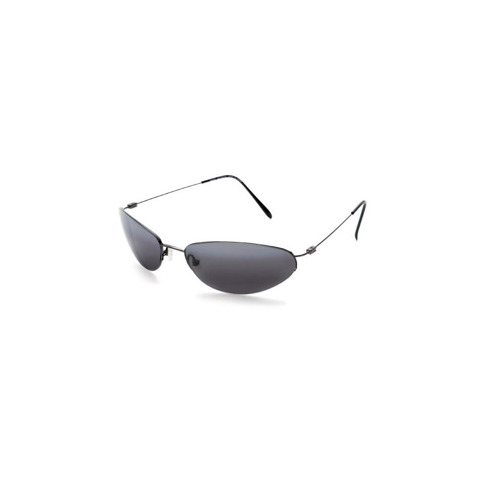 Maui Jim Runabout Sunglasses   Gunmetal/ Neutral Grey