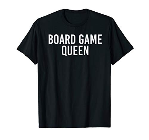 BOARD GAME QUEEN Shirt Funny Chess Player Geek Gift Idea]()