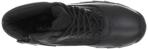 Ridge Footwear Heren Midden Zijrits Alwp Laars Zwart