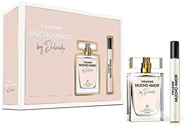 Dulceida You and Me Mucho Amor, Set regalo con EDT Spray 50 ml y EDT Roll-On 15 ml: Amazon.es: Belleza