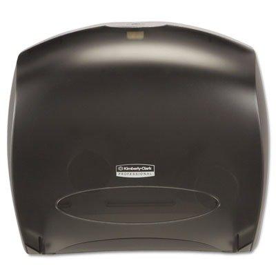 KIMBERLY CLARK CONSUMER 9507 IN-SIGHT JRT Jr. Tissue Dispenser w/Stub, 13 22/25w x 5 3/4d x 16h, Trans Smoke