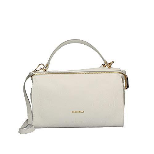 Donna Coccinelle Dha180101 001 Noir Blanche Bag 3RjqL54A