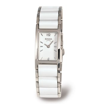 Boccia B3201-01 Ladies Titanium and Ceramic Bracelet Watch