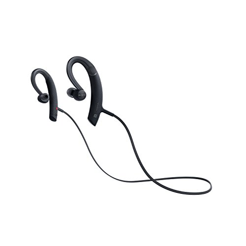 Sony MDRXB80BS/B Premium, Wireless, in-Ear, Sports Headphone, Black (Sony Mdrxb950bt B Extra Bass Bluetooth Headphones)