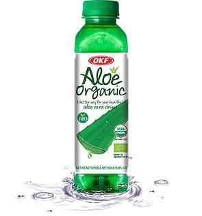 Trader Joe's Aloe Vera Drink with Pulp, 4 bottles, each 16.9 oz bottles, (Aloe Pulp)