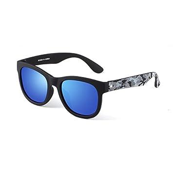 Gafas Estilo Tropical Unisex Anti Glare Anti-UV Polarizado Azul Gafas de Sol