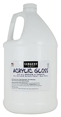 Sargent Art 22-8812 Gallon Acrylic Gloss and Varnish