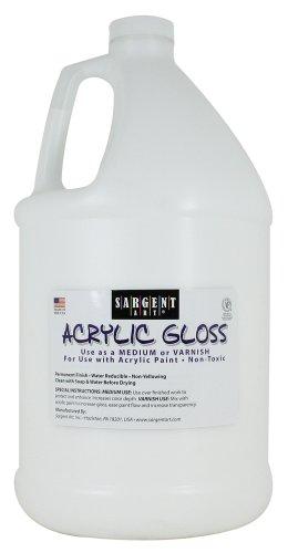 Sargent Art 22-8812 Gallon Acrylic Gloss and ()