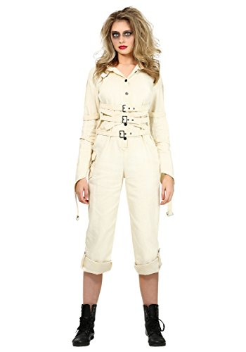 Women's Insane Asylum Costume X-Large White