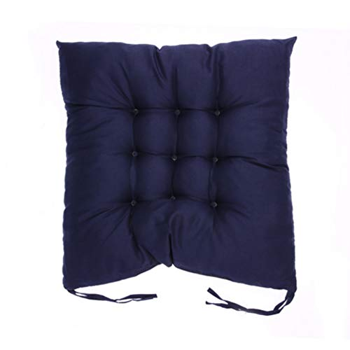 - YURASIKU Comfortable Cotton Seat Cushion Winter Office Bar Chair Back Cushions Sofa Pillow for Home Office Car Decor