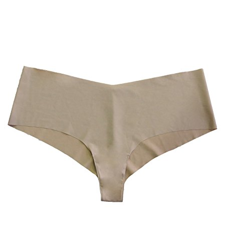 Undie Couture Laser Cut Hipster Panties (8250) (Medium/Large (6-8), Nude)