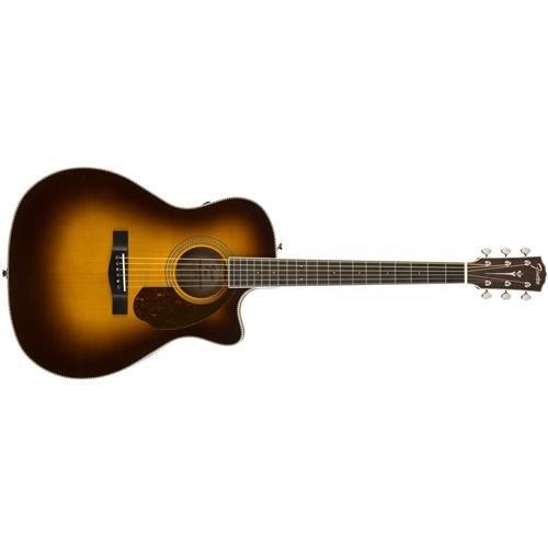 Fender LE Paramount PM-4CE Auditorium Limited Guitar, 20 Frets, Medium