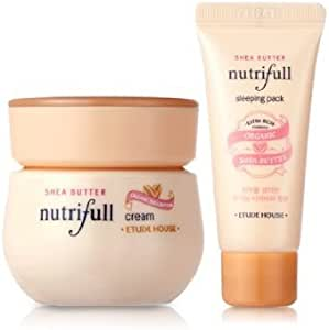 Etude House nutrifull Shea Butter Cream Special Set [Cream + Sleeping Pack]: Amazon.es: Belleza