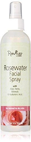 Reviva Labs Facial Spray Rosewater -- 8 fl oz