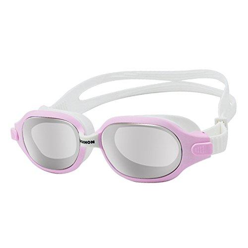Starter Lunettes de natation Lunettes de natation anti-buée protection UV pour adulte Homme Femme Youth enfants enfant, incassable, étanche avec de grandes Lentilles de cadre