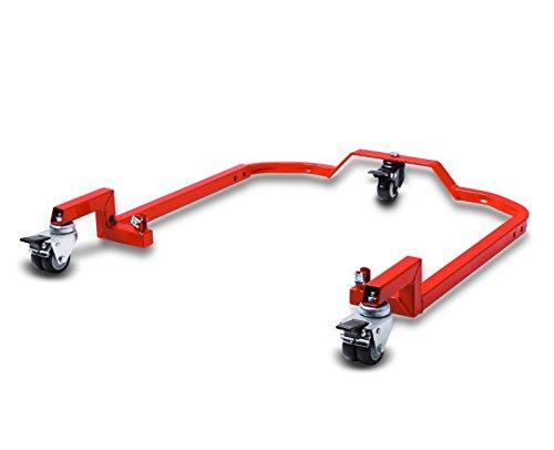 ConStands Rangierhilfe und Bolzen Motorrad Montagest/änder Ducati Hypermotard 950// SP 2019 Single Mover Rot hinten inkl