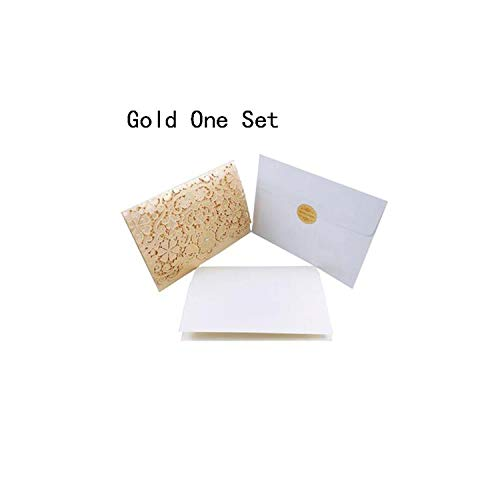 Greeting Card,1Pcs Sample Gold Red Cut Diamond Wedding Invitations Card Elegant Greeting Cards Favor Wedding Event Party Decorations,One Set Gold,185X127 Mm