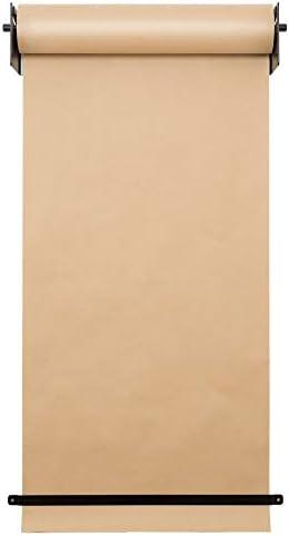 Wand Montiert Kraft Roller Diy Zeichenbrett Für Kinder Passt Stilvoll Tapetenhalter Innovativ Alternative An Ein Whiteboard Flipchart Oder Informationstafel,Black