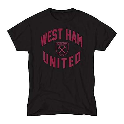 West Ham United Mens Black T Shirt - Authentic EPL
