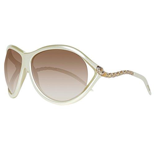 عینک آفتبی زنانه مدل Roberto Cavalli RC853S Sunglasses Ivory