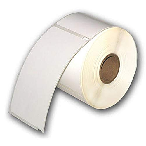 10 Rolls of White Raptor Compatible ID Badge Labels - 2 5/16 x 4