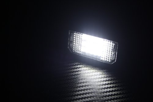 Kaltwei/ß ca 6000K T/ÜV Frei sehr hell Hochwertige Premium Led Kennzeichenbeleuchtung Module f/ür Ihr Fahrzeugmodell mit E4 Pr/üfzeichen