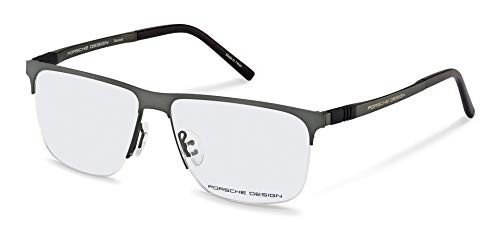 Porsche Design Titanium Eyeglasses P8324 A Grey 57-14 - Men's (Porsche Design Eyewear)