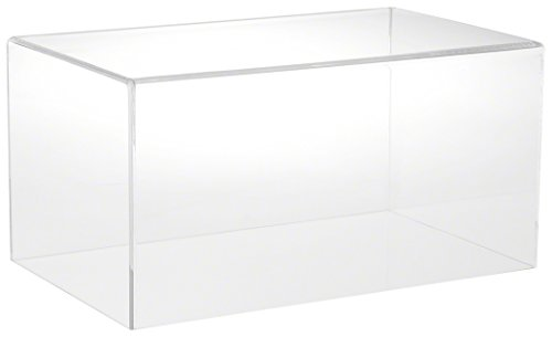 Plymor Brand Clear Acrylic Display Case with No Base, 16