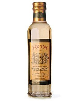 Lucini Pinot Grigio Italian Wine Vinegar, 8.5-Ounce Glass Bottle