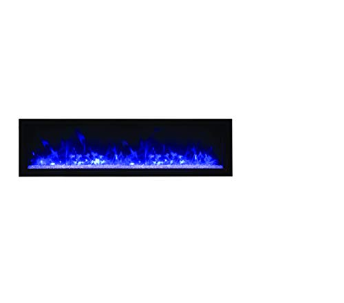 Cheap Amantii BI-50-XTRASLIM Panorama Indoor/Outdoor Extra Slim Built In Electric Fireplace 50-Inch Black Friday & Cyber Monday 2019