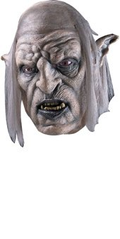 Rubie's Costume Men's Lord Of The Rings Orc Overseer Mask, Multi, One Size (Orc Halloween Mask)