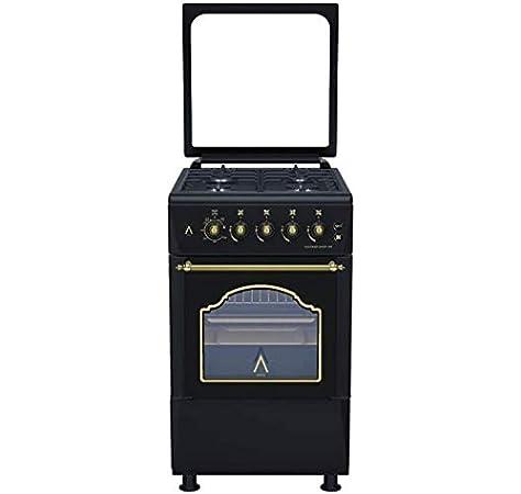 ALPHA Cocina de Gas Vulcano GOLD-50 Rustica. Encendido automático. **Alta Gama**: Amazon.es: Hogar