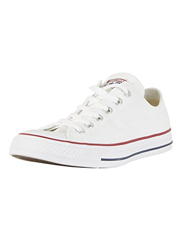- Converse Unisex Chuck Taylor All Star Ox Low Top Optical White Sneakers - 12 D (M) Optical white