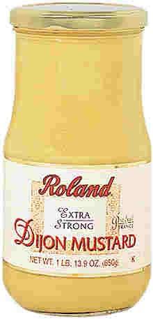 Roland Extra Strong Dijon Mustard, 29.9 oz