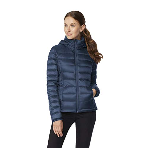 Womens Ultra Light Down Packable Jacket, Old Bay, X-Large