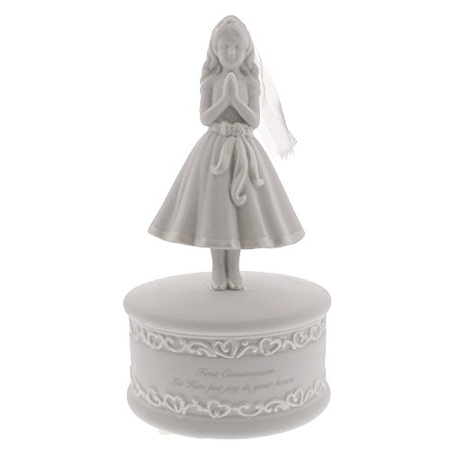 First Communion Girl Musical Figure