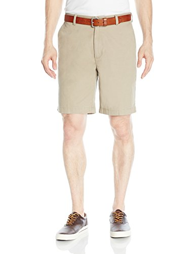 Amazon Essentials Men's Classic-Fit Short, Khaki, 33