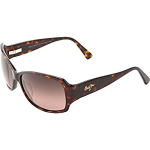 Maui Jim Womens Nalani Sunglasses (295) Tortoise/Pink Acetate - Polarized - 61mm