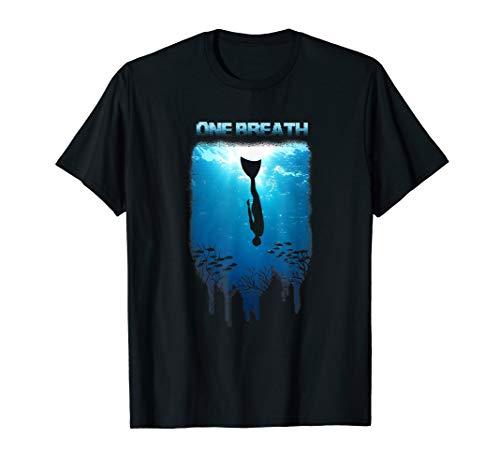 Monofin Mono Fin Diving Freediving Apnoe Spearfishing Shirt