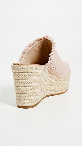 Sandal Espadrille Dina Pink Sam Shell Women's Wedge Edelman 1vqP8ga