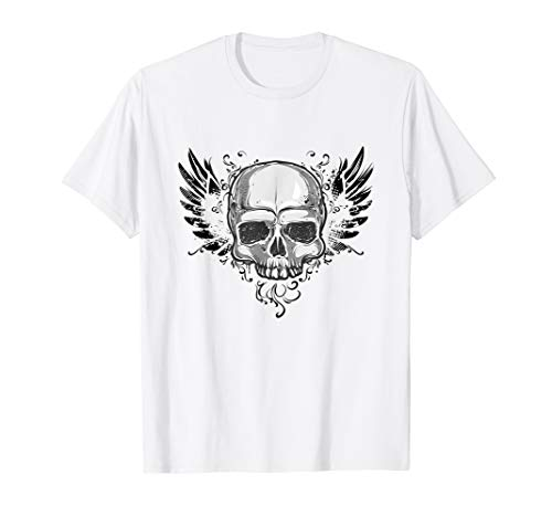 Skull Wings Of Springs Hard Rock Motorbike Halloween