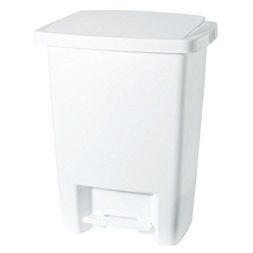 Rubbermaid Inc 33Qt Wht Wastebasket 2841-87 Wastebaskets Kitchen