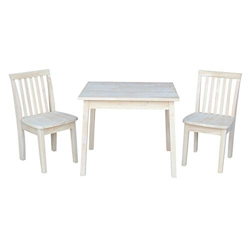 International Concepts K-JT-2026-263P 2 Mission Juvenile Chairs Kids Table, ()